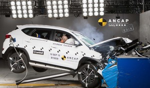 Hyundai Tucson | 4 Star ANCAP Safety Rating