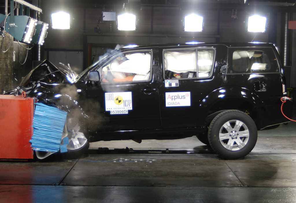 Nissan Pathfinder | 4 Star ANCAP Safety Rating