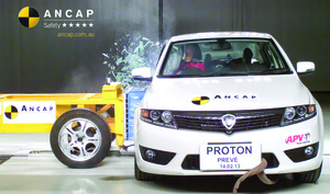 Proton Preve | 5 Star ANCAP Safety Rating