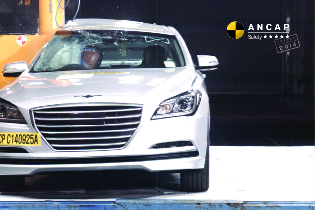 Hyundai's superior new model, the Genesis, offers superior safety