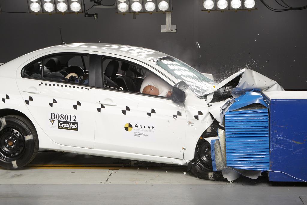 Mitsubishi lancer safety rating