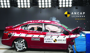 Nissan Pulsar | 5 Star ANCAP Safety Rating