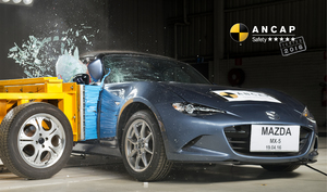 Mazda MX-5 | 5 Star ANCAP Safety Rating