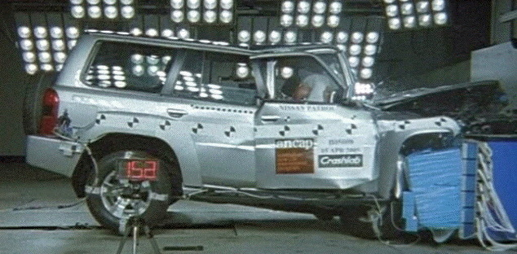 Nissan Patrol (2004 – 2017) Crash Test Results | ANCAP