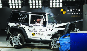 Jeep Wrangler | 4 Star ANCAP Safety Rating