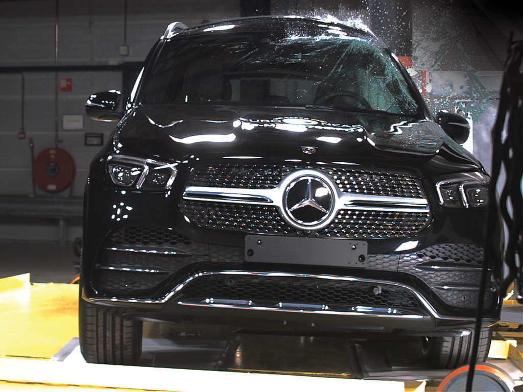 5 star safety for Mercedes-Benz GLE and G-Class.