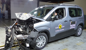 Peugeot Partner | 4 Star ANCAP Safety Rating