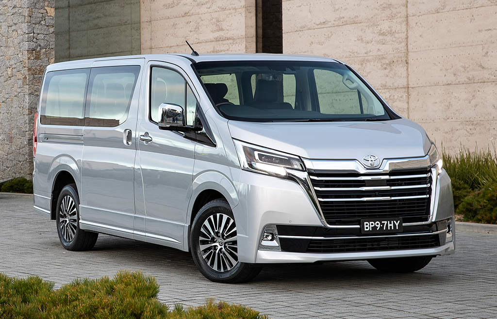 People Mover segment gets a boost with Toyota Granvia awarded 5 stars.