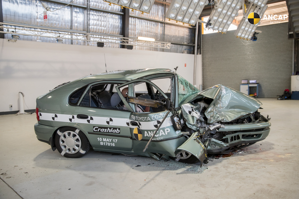 New Analysis: Fatality rate four times higher in an older vehicle
