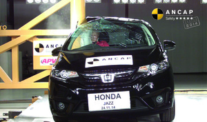 Honda Jazz | 5 Star ANCAP Safety Rating