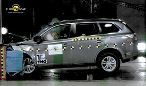 Mitsubishi Outlander | 5 Star ANCAP Safety Rating