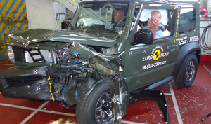 Suzuki Jimny | 3 Star ANCAP Safety Rating
