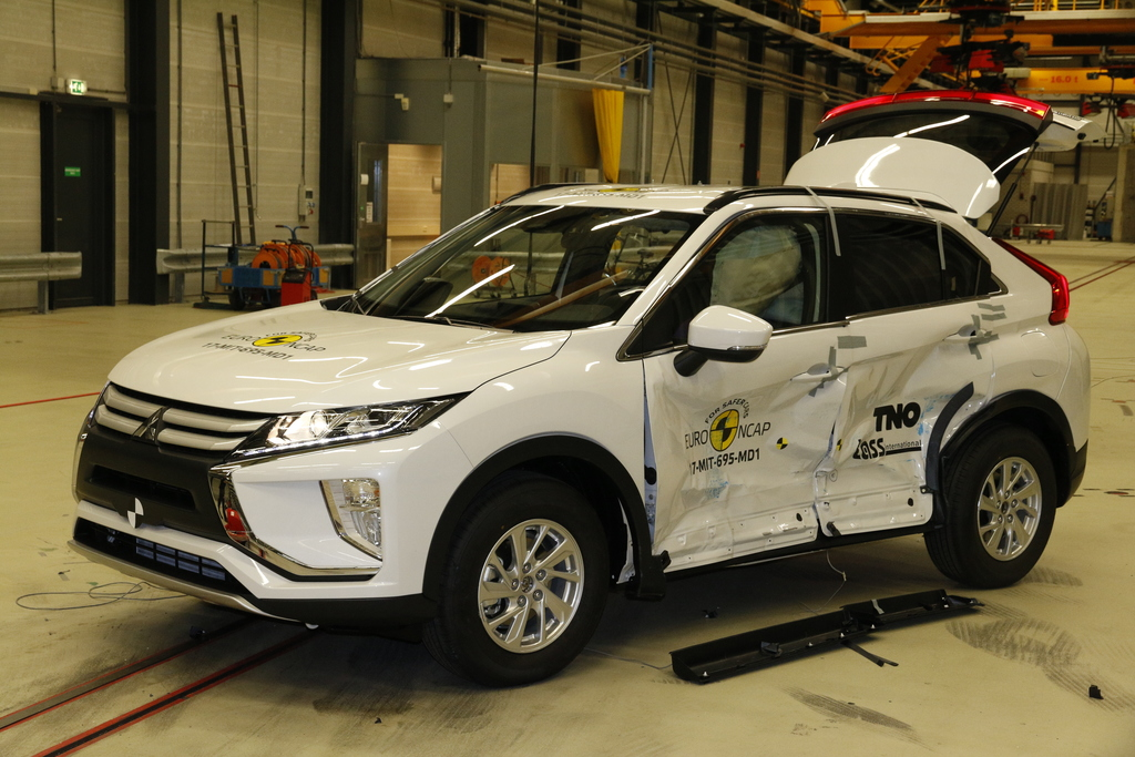 Mitsubishi Eclipse Cross achieves high scores, joining a range of brands meeting increasing safety standards.
