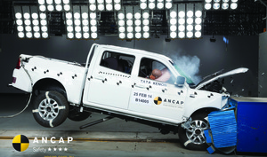 Tata Xenon | 4 Star ANCAP Safety Rating