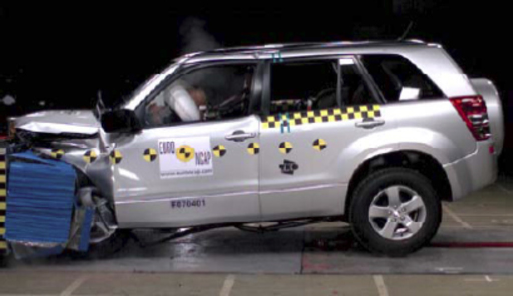 Suzuki Grand Vitara | 4 Star ANCAP Safety Rating