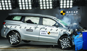 Kia Carnival | 4 Star ANCAP Safety Rating