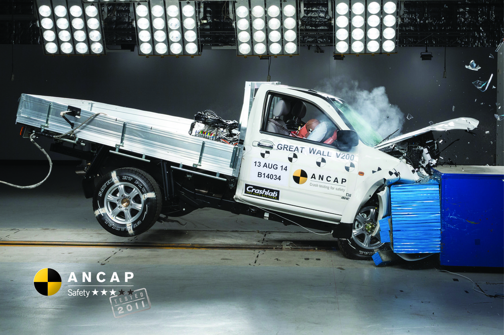Great Wall Motors V200 (2011 – 2015) Crash Test Results ...