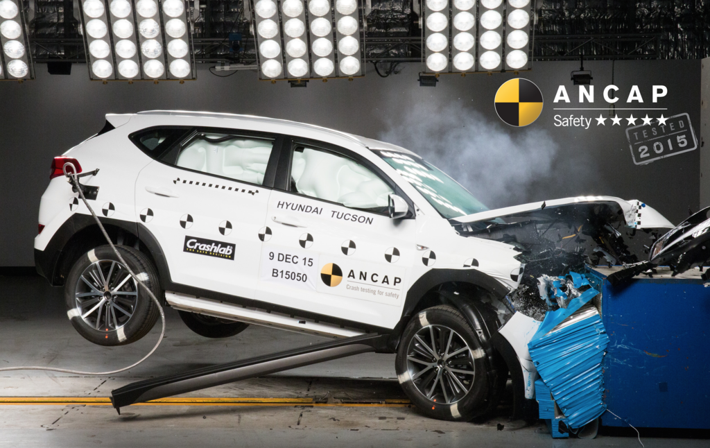 ANCAP awards 5 stars to updated Hyundai Tucson