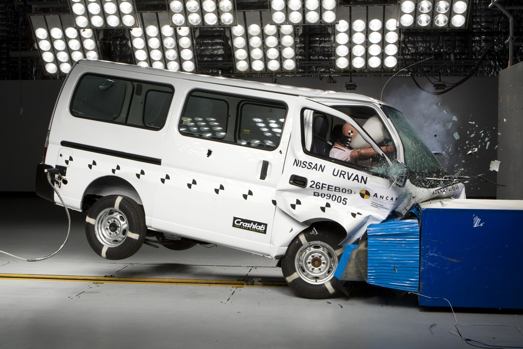 Nissan Urvan / E25 | 1 Star ANCAP Safety Rating