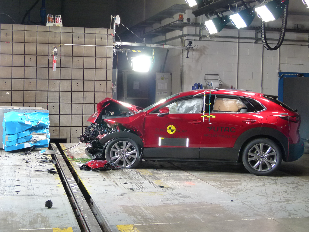 New Mazda CX-30 achieves near-perfect score for its protection of adult occupants.