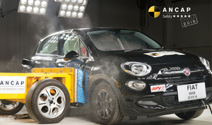 Fiat 500X | 5 Star ANCAP Safety Rating