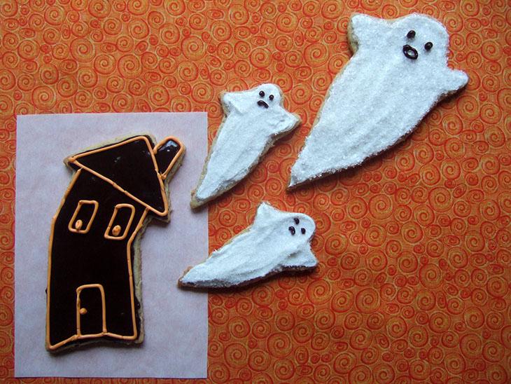 Blog Halloween Cookies - Almond Oat Cookies