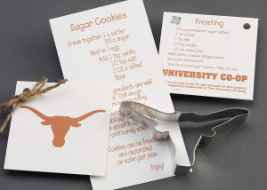 University of Texas Longhorn Custom Cookie Cutter