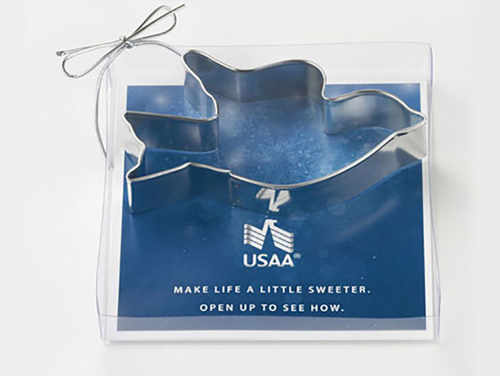 Blog USAA Dove Custom Cookie Cutter
