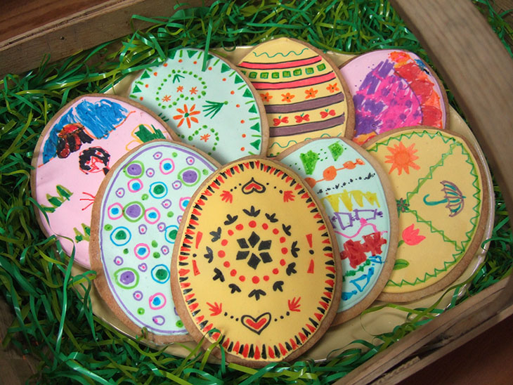 Blog Easter Cookies and Edible Food Markers