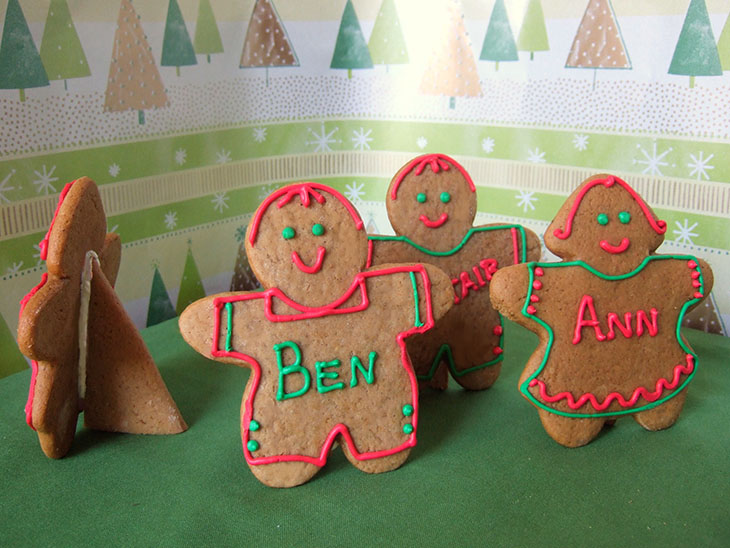 Blog Gingerbread Cookie Place Cards