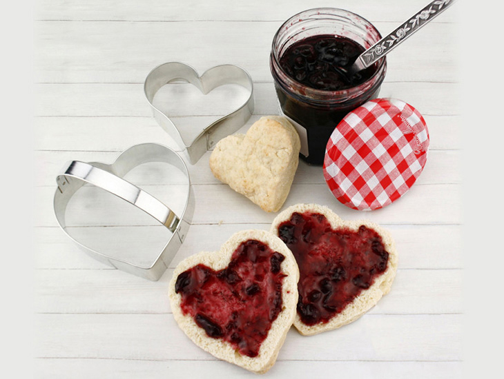 Blog Heart Shaped Buttermilk Biscuits