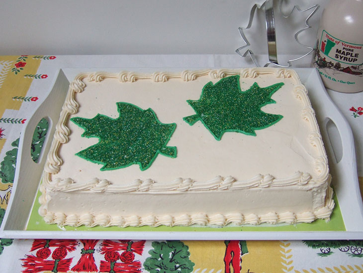 Blog Maple Walnut Cake