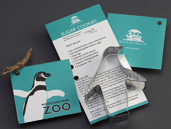 Blog Woodland Park Zoo Penguin Custom Cookie Cutter