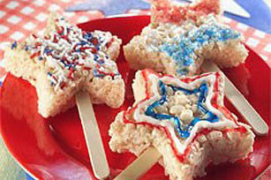 Rice Crispy Star Pop