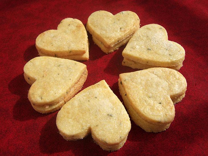 Blog Rosemary Cornmeal Cookies