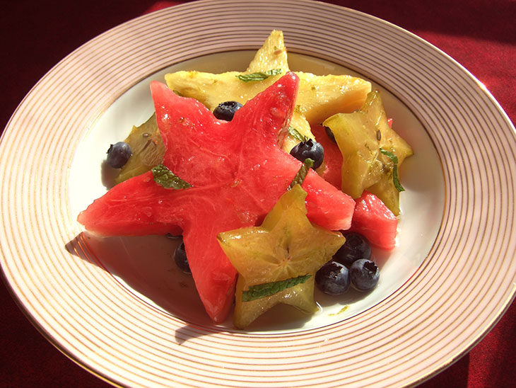 Blog Starry Fruit Salad