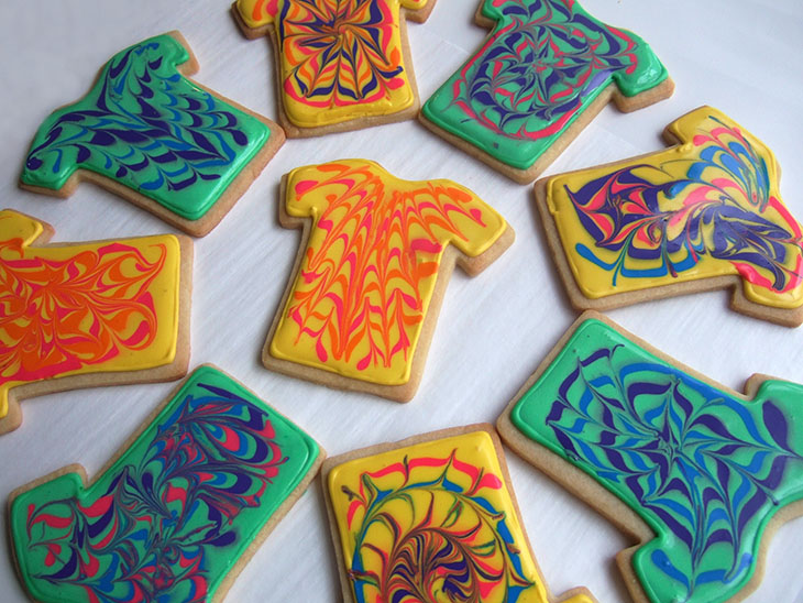 Blog Tie Die Cookies