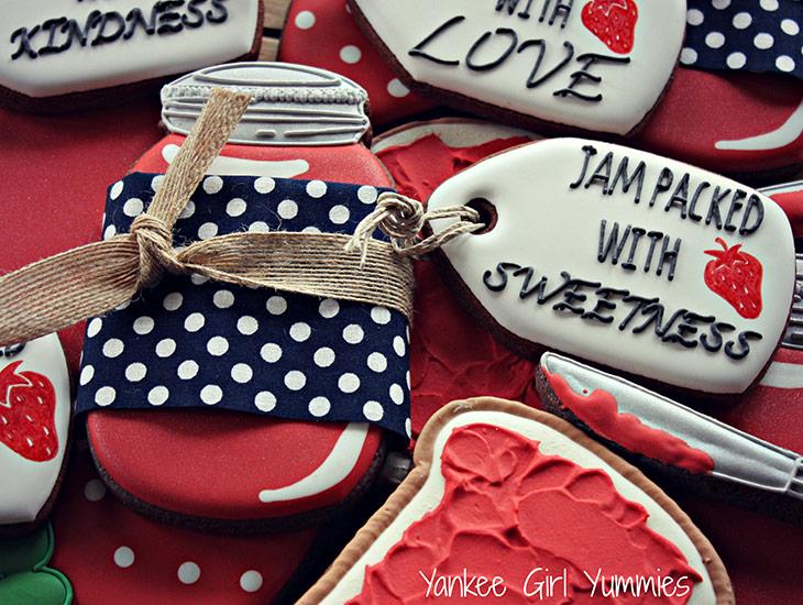 Mason Jar Jam Cookies