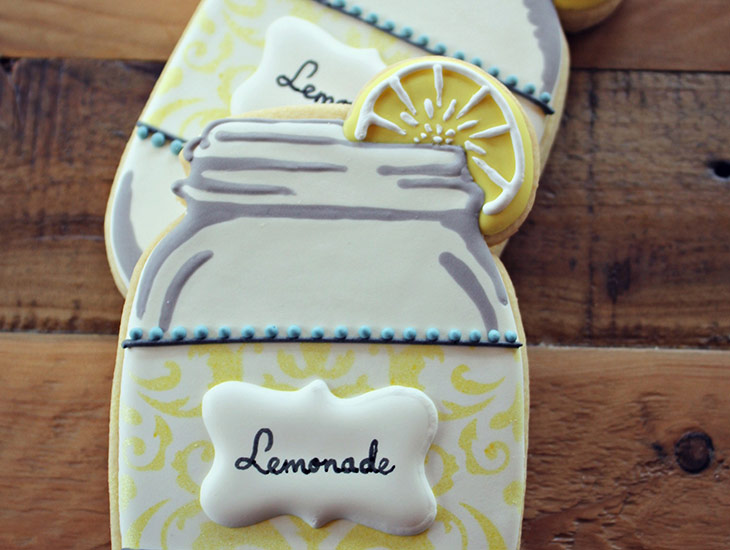Lemonade in a Jar Cookies