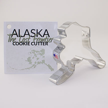 Custom-Alaska Geographic Cookie Cutter