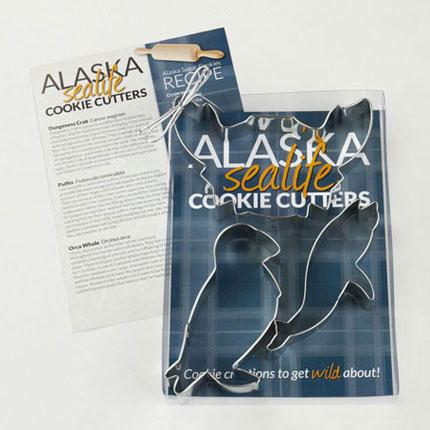 Custom Cookie Cutter Set - Alaska Sea Life