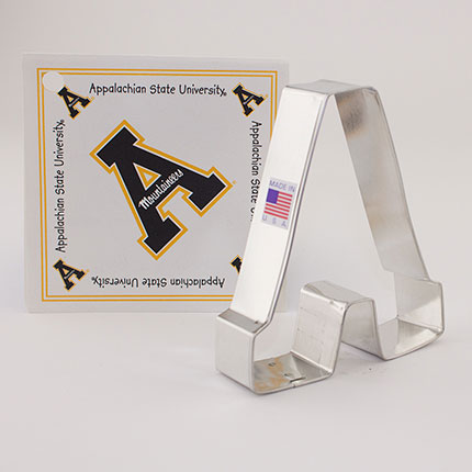 Custom-Appalachian State University Cookie Cutter