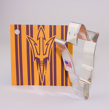 Custom-Arizona State University  Cookie Cutter