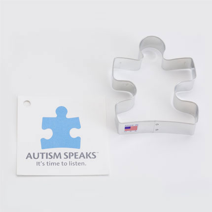 Custom Cookie Cutter - Autism Speaks Puzzle Piece