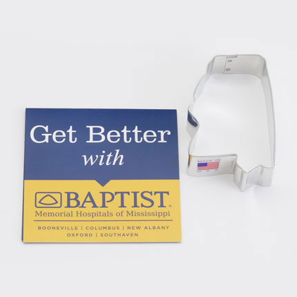Custom Cookie Cutter - Baptist Memorial Hopsital Mississippi
