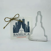 Custom Cookie Cutter - The Basilica Landmark