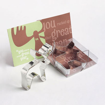 Custom Cookie Cutter - Baudville Moose