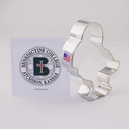 Custom-Benedictine College Cookie Cutter