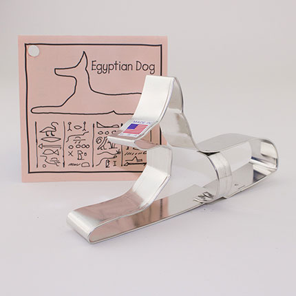 Custom-Brooklyn Museum Retail Gift Egyptian Dog Cookie Cutter