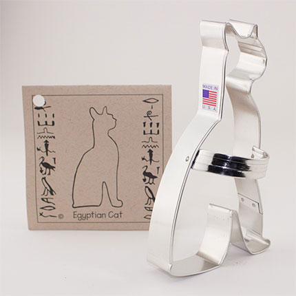 Custom-Brooklyn Museum Retail Gift Egyptian Cat Cookie Cutter